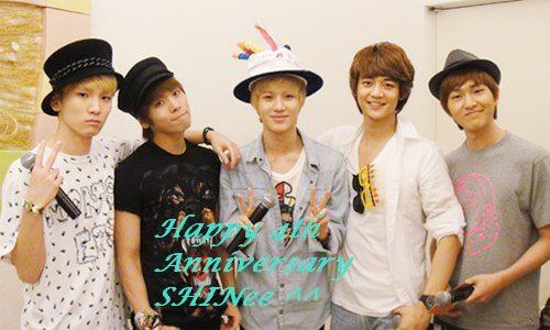 4th anniversary shinee